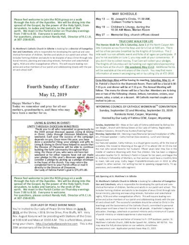 example of church schedule template
