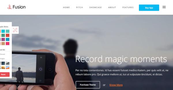 FUSION - 100% responsive WordPress Theme