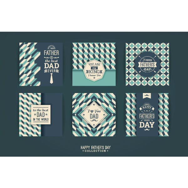 11+ Father's Day Card Templates