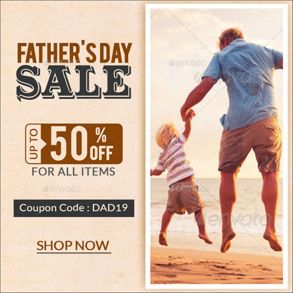 fathers day sale instagram example