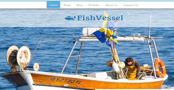 Fish Vessel – WooCommerce Plugin WordPress Theme