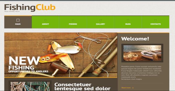Fishing Club – SEO Friendly WordPress Theme