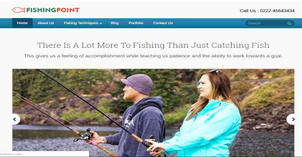 FishingPoint – Responsive WordPress Theme