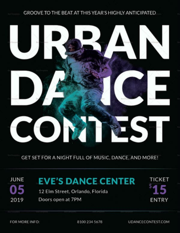 flyer urbandanceconstest vera