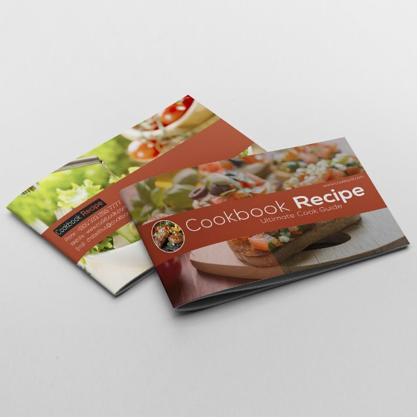 food cookbook recipe catalog format