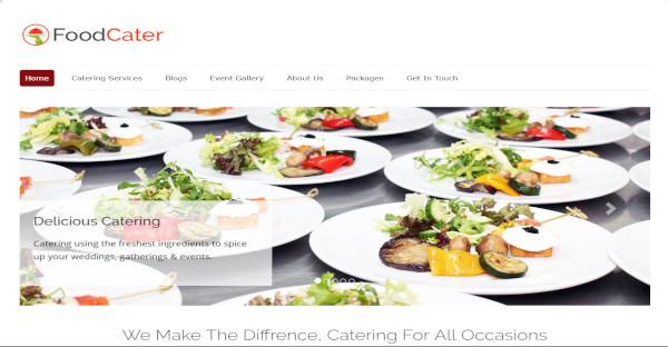 foodcater – responsive wordpress theme