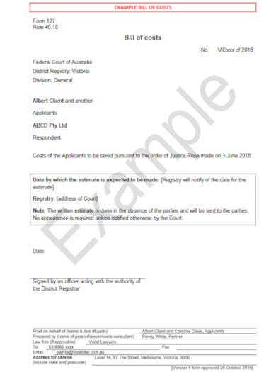 formal attorney invoice template