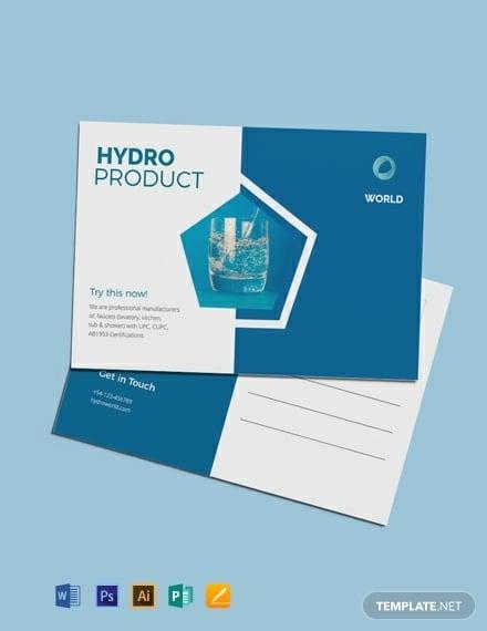 free business marketing postcard template 440x570 1