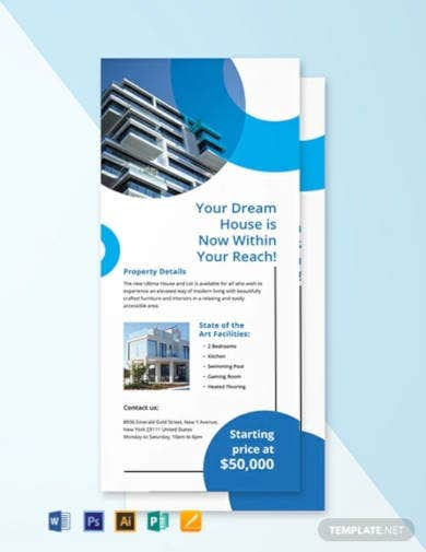 free commercial real estate rack card