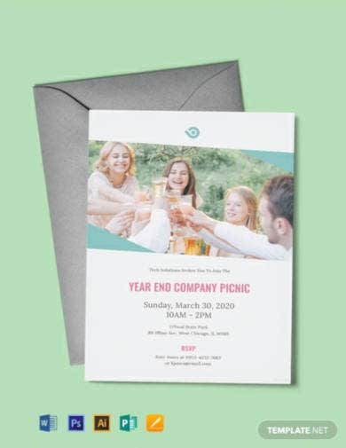 free company picnic invitation