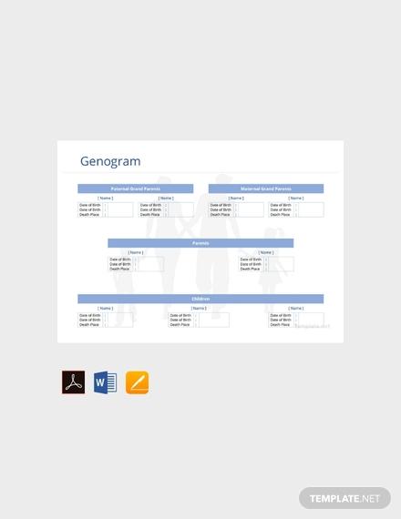 free genogram template 440x570 1