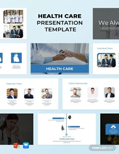 free healthcare powerpoint presentation template1