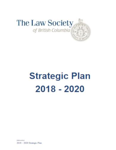 free legal strategic plan template