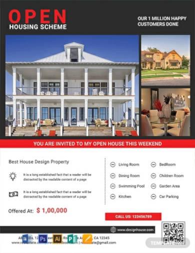 free-luxury-open-house-flyer