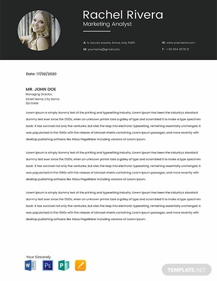 free marketing analyst resume template 440x570 1