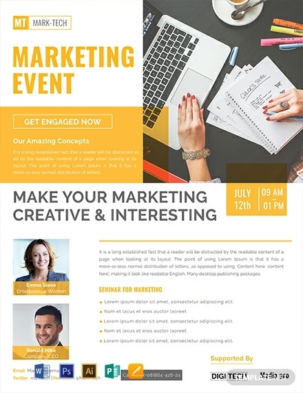 free marketing event flyer template 440x570 1
