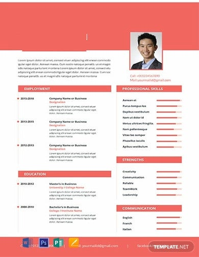 free-marketing-manager-resume-template