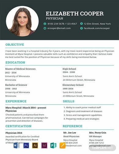 free-medical-resume-template