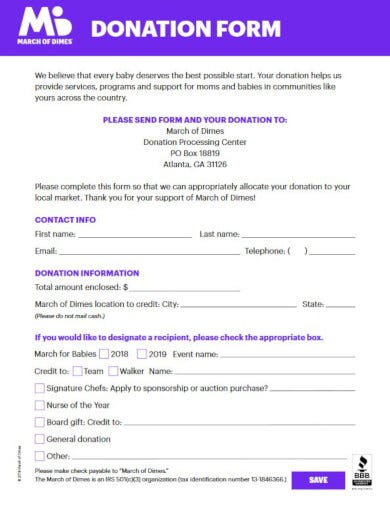 free non profit invoice template