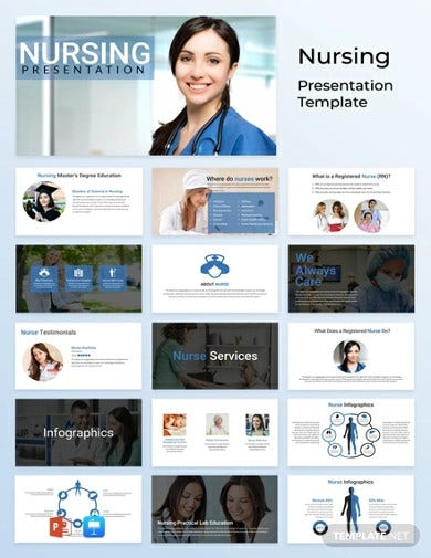 free nursing powerpoint presentation template1