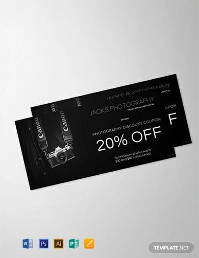 free photography gift voucher template1