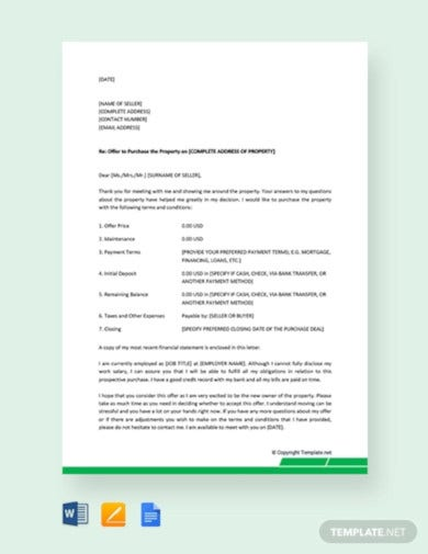 free-real-estate-offer-letter-template