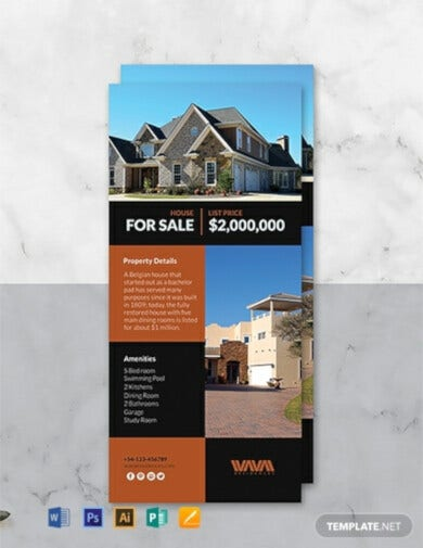 free real estate rack card template1