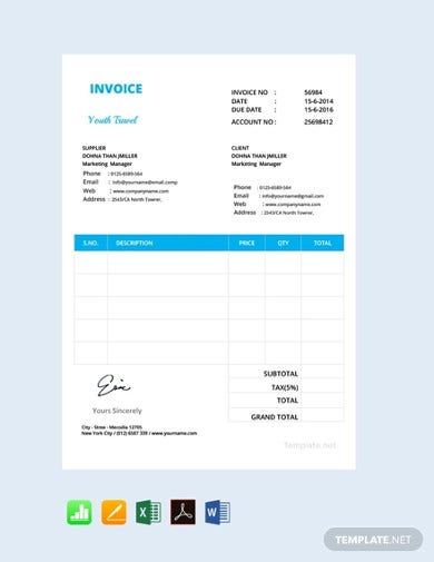 free simple invoice format2