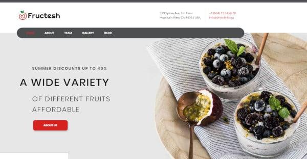 fructesh – jetelements plugins wordpress theme