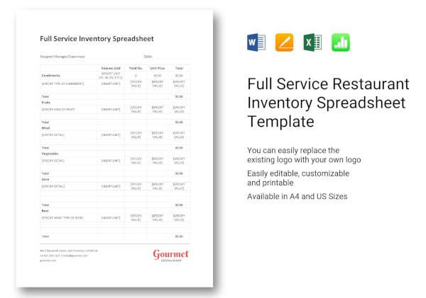full-service-restaurant-inventory-spreadsheet
