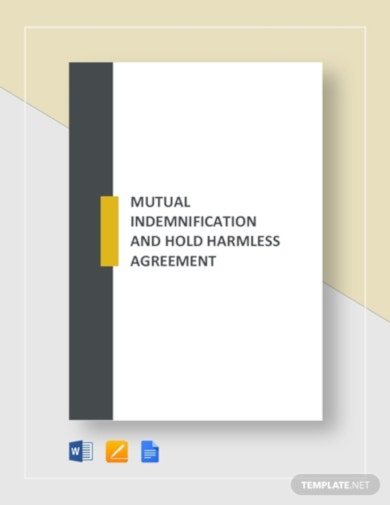 functional mutual indemnification agreement