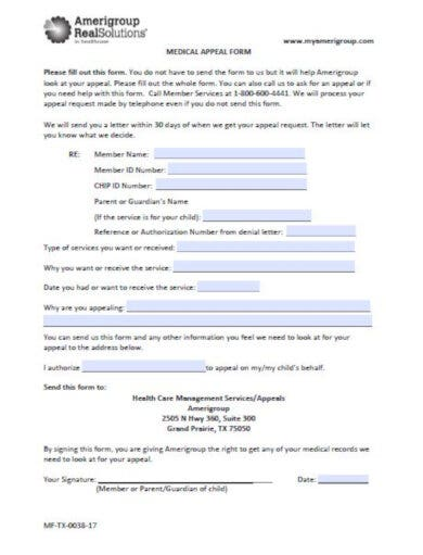 10+ Best Medical Appeal Letter Templates - PDF, Word ...