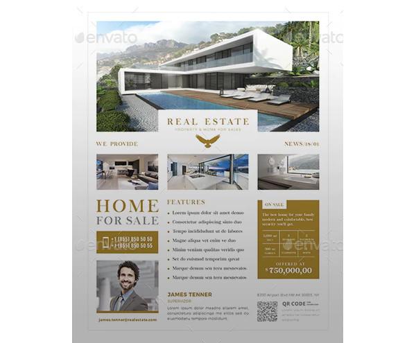 general real estate flyer