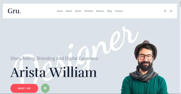 20+ Best Personal Portfolio WordPress Themes & Templates
