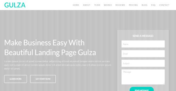 Gulza - Drag & Drop WordPress Theme