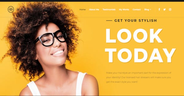 Hair Wizard - Mobile Friendly WordPress Theme