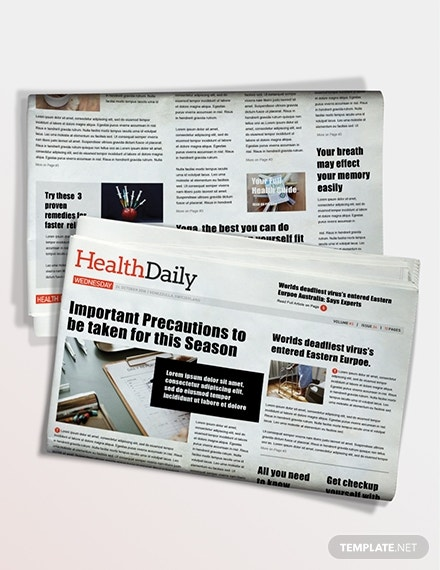 health newspaper download