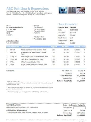 home repair or renovation invoice template e1557647647153
