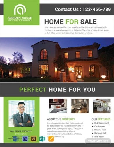 home-sale-real-estate-flyer-template