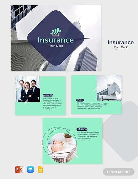 insurance company marketing presentation example