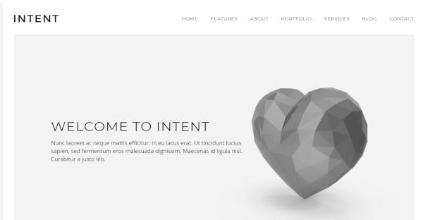 Intent - SEO Optimized WordPress Theme