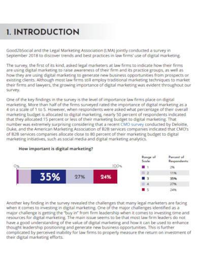 law firm digital marketing survey