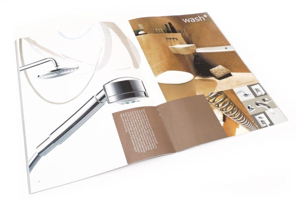 luxury apartment brochure template