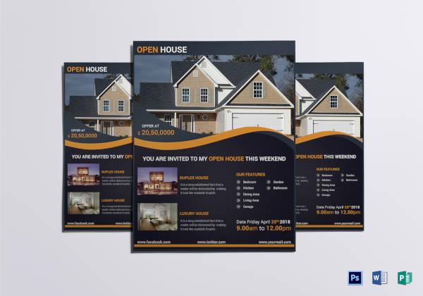luxury-open-house-flyer-template