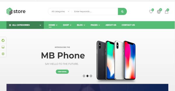 MBStore – Multipurpose WordPress Theme