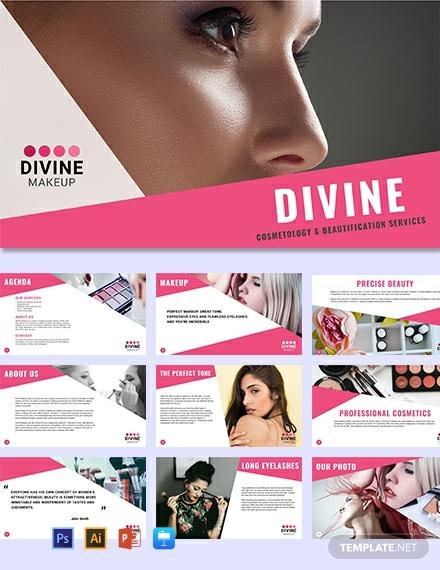 makeup artist marketing presentation format