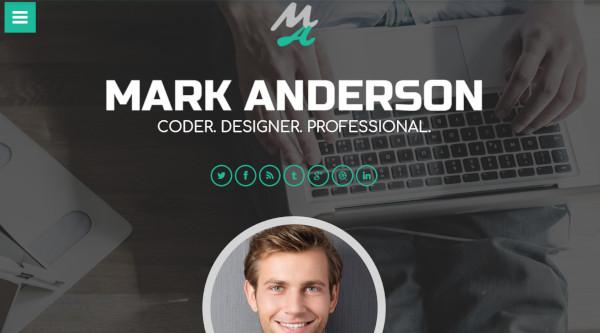 mark anderson multilingual wordpress theme