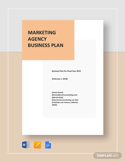 marketing agency business plan template1