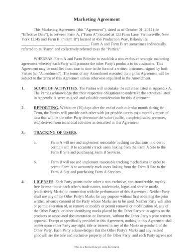 marketing-agreement-template-example