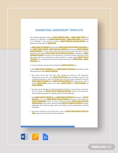 marketing-agreement-template